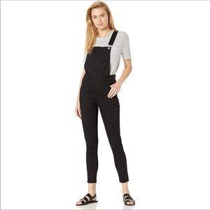 Levi's Skinny Denim Stretch Overalls Black Size 24
